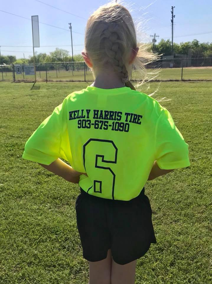 Good luck to our Eustace Girls T-ball Team!!